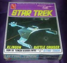 Amt Star Trek Klingon Battle Cruiser Sealed Dated 1968 S952 C. Early 1975