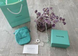 Neu Tiffany und co kette herz Silber Please Return To Tiffany & Co New York 925