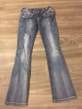 MISS ME BUCKLE SIGNATURE RISE BOOT JEANS WOMENS SIZE 26