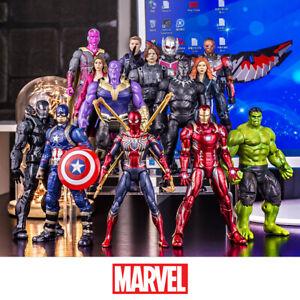 Marvel Legends Captain America Ironman Spiderman Superhero 7inch Figure Gift Toy
