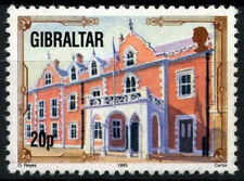 Gibraltar 1993-5 SG#700a, 20p Architectural Heritage Definitive Used #D48071