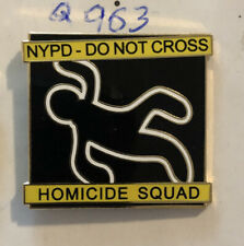 NYPD Homicide Squad New York Police Department Pin