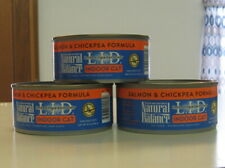 Natural Balance Limited Ingredient Diet Salmon & Chickpea canned cat food 9 cans