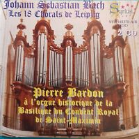 ALBUM 2 CD J.S. BACH PIERRE BARDON A L'ORGUE DU COUVENT DE SAINT MAXIMIN Ref 42