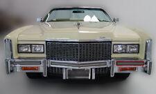 1975 1976 75 76 CADILLAC ELDORADO LEFT FRONT BUMPER IMPACT RUBBER STRIP USED T