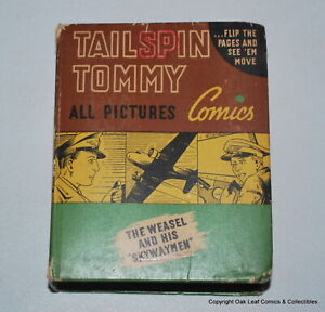 Tailspin Tommy the Weasel & his Skywaymen Big Little Book  BLB 1410 Fine 1941