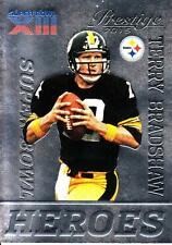 2015 Prestige Super Bowl Heroes #6 Terry Bradshaw Steelers