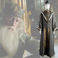 Principal Magician Albus Dumbledore Cosplay Costume Halloween Suit