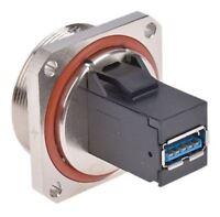 Telegartner TOC Series, Panel Mount, Version 3.0 Type A USB Connector, Receptacl