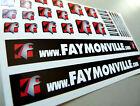 Set FAYMONVILLE Trailer - Aufkleber 1:14 Sticker Tamiya Wedico Decal 1:16 068