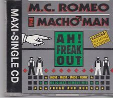 MC Romeo-AH Freak Out cd maxi single 5 tracks