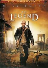 I Am Legend ~ Will Smith ~ Full Screen Edition DVD ~ FREE Shipping USA