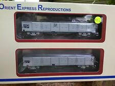 Orient Express Reproductions 117 OX wagon SAR Grey early logo and without logo