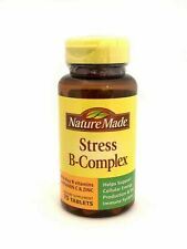 Nature Made Stress B-Complex Tablets With Vitamin C and Zinc 75 Tabs Exp 2/2022
