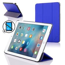 Azul Plegable Funda Smart APPLE IPAD PRO 9.7 2016 Protector de Pantalla &