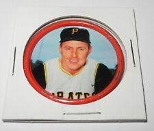 1963 Salada Junket Baseball Coin Pin #14 Bill Mazeroski Pittsburgh Pirates v2
