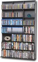 Atlantic - Elite Multimedia Storage Cabinet - Black/Gray