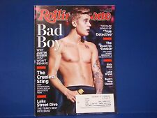 Rolling Stone Magazine,March 13,2014,Justin Bieber Bad Boy Lake Street Drive