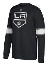 "Los Angeles Kings Adidas NHL ""Silver"" Men's Long Sleeve Jersey Shirt"