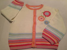 NWT Gymboree Petit Fleur flower and striped sweater size 3T