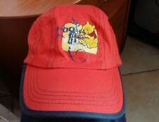 Disney - Winnie the pooh - cappellino rosso strisce blu 54 cm - 100 % cotone 987da5717093
