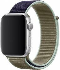 Genuine Apple Watch Nylon Sport Loop Band (42mm / 44mm) - Khaki - New