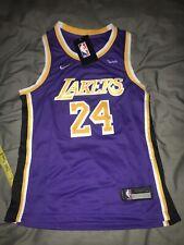 Los Angeles Lakers Bryant púrpura baloncesto de la NBA Jersey jóvenes grandes