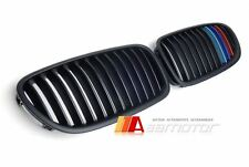BMW F10 F11 Saloon Touring Matte Black M-Color Front Kidney Hood Grill Grilles