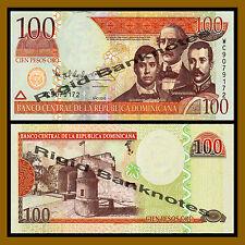 Dominican Republic 100 Pesos Oro, 2010 P-177c Unc