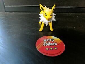 Pokemon TOMY Figure Jolteon with Pog