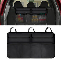Universal Car Trunk Cargo Organizer Rear Back Seat Storage Bag Mesh Net 6 Pocket