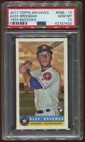 ALEX BREGMAN Rookie 2017 Topps Archives 1959 Bazooka 59B-10 PSA 10 Gem Mint MVP