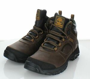 X40 NEW $120 Men's Sz 8.5 Timberland Mt. Major Hiker Waterproof Boots In Brown