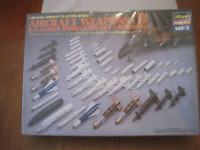 HASEGAWA AIRCRAFT WEAPONS::B 1/48 NEUF SOUS FILM  KIT MAQUETTE DIORAMA
