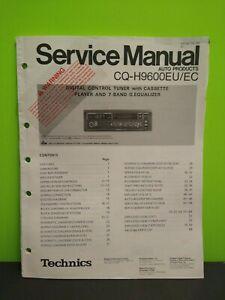 TECHNICS CQ-H9600EU/EC Cassette Player Service Manual