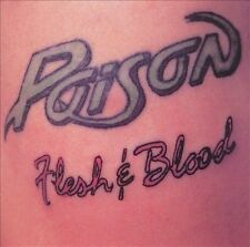 Flesh & Blood by Poison (CD, Jul-1990, Capitol/EMI Records)