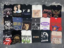 54 Music Band T Shirt Lot Bundle Resell Wholesale Rock Pop Rap Modern Vtg Tour