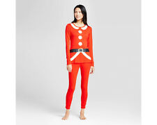 cd5cfd18c52c Wondershop Women s Red Santa Claus Suit Christmas Pajamas PJs Set - Small