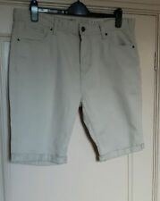 Primark Cotton Patternless Slim Shorts for Men