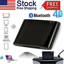 30 Pin Dock Speaker Bluetooth 4.1 Music Audio Receiver Adapter for iPod iPhone@#