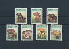 LM83473 Vietnam 1987 plants flora nature mushrooms fine lot MNH