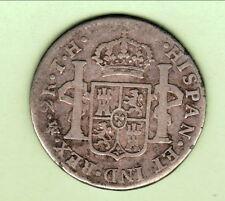 ESPAGNE (mexique) 2 REALES 1808 CARLOS IIII