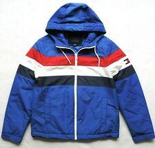 Tommy Hilfiger Mens Colorblock Filled Hooded Jacket Size: S
