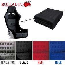 Black BRIDE Seat Cover Fabric Decorate Cloth For RECARO/BRIDE/SPARCO 5mx1.6m