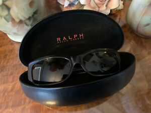 Ralph Lauren Sunglasses & Case RA5021 501/81 54.16 130 Black Vintage?