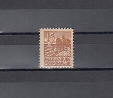 SBZ 15 Pfg. Bauer 1946** bessere Type Michel 37 yd geprüft (S11234)