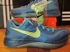 DS Nike Hyperfuse Low ELEMENTS PACK AQUA WATER Blue Green Tropical 11 555034 403
