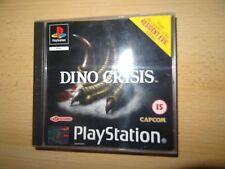 DINO CRISIS Sony PlayStation 1 PS1 Nuovo di zecca da collezione versione PAL