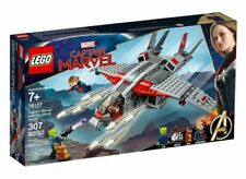 76127 CAPTAIN MARVEL & THE SKRULL ATTACK lego legos set NEW goose nick fury