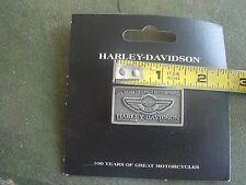 OEM 2003 Harley-Davidson 100TH ANNIVERSARY BADGE LOGO PIN EMBLEM LOT #3